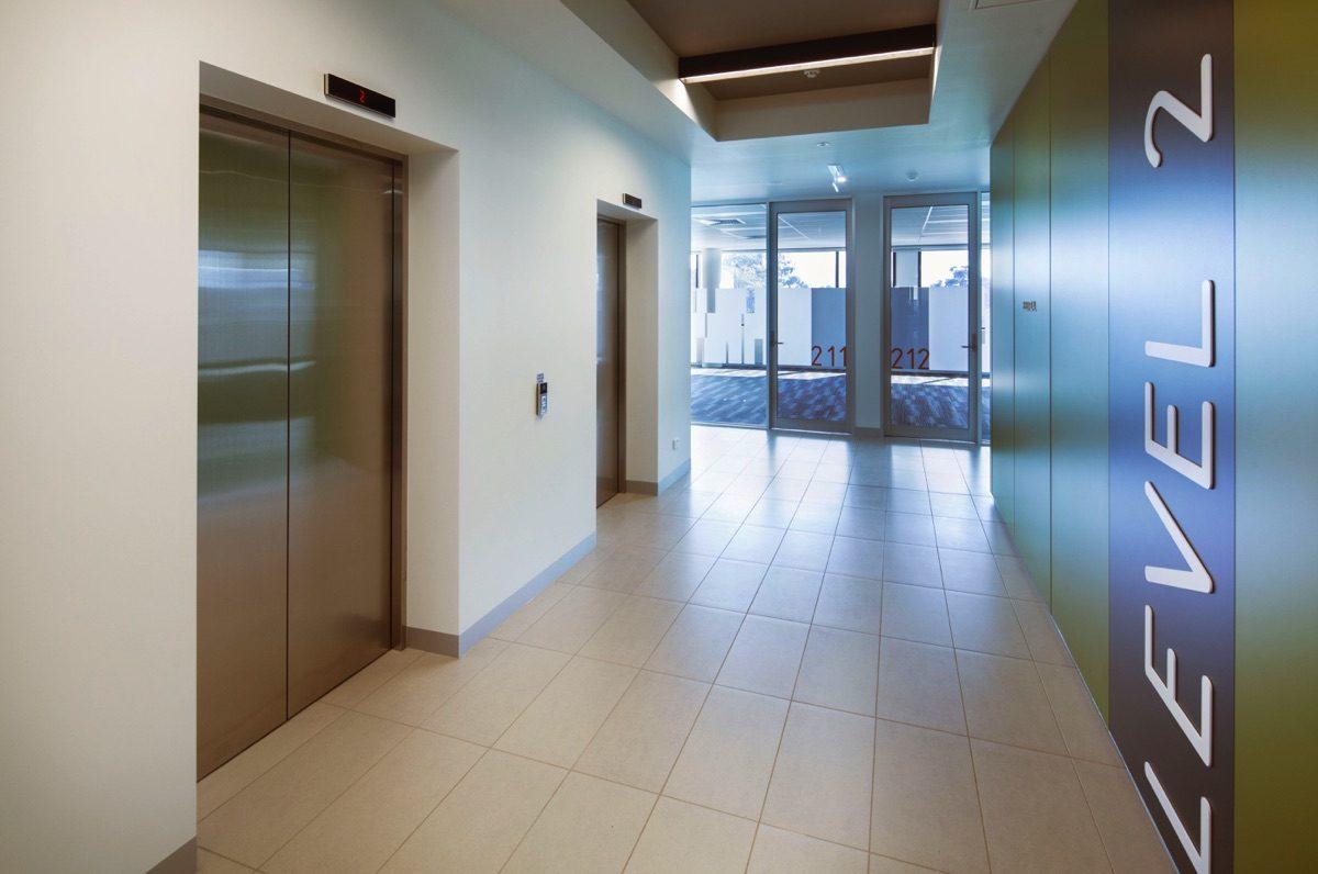 Ormond Square internal corridor
