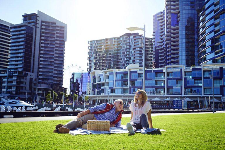 New Quay outdoor picnic
