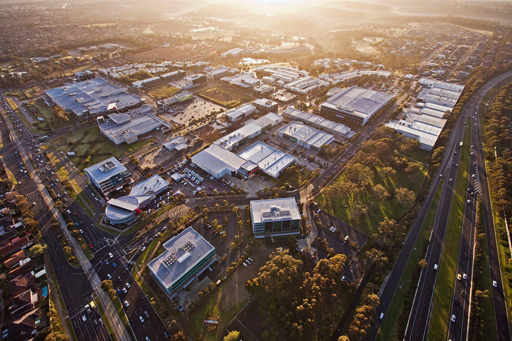 University Hill Aerial shot
